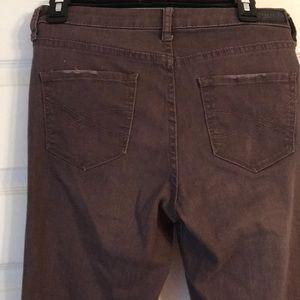 Aeropostale Jeans - purple skinny jeans